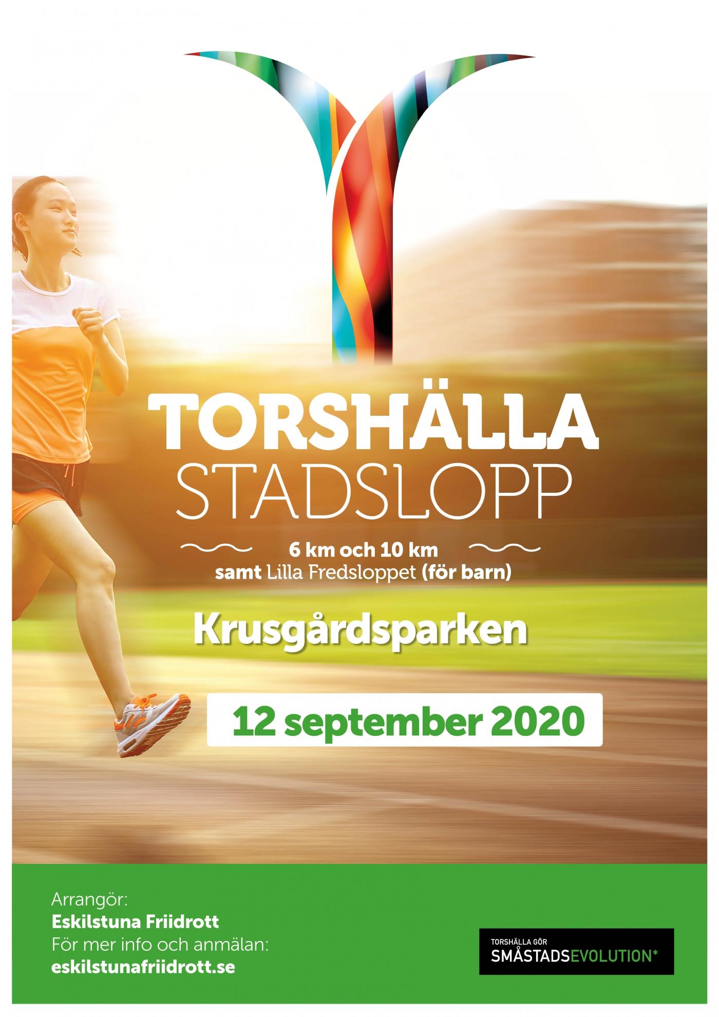 Torshälla stadslopp Lördag 12 september 2020