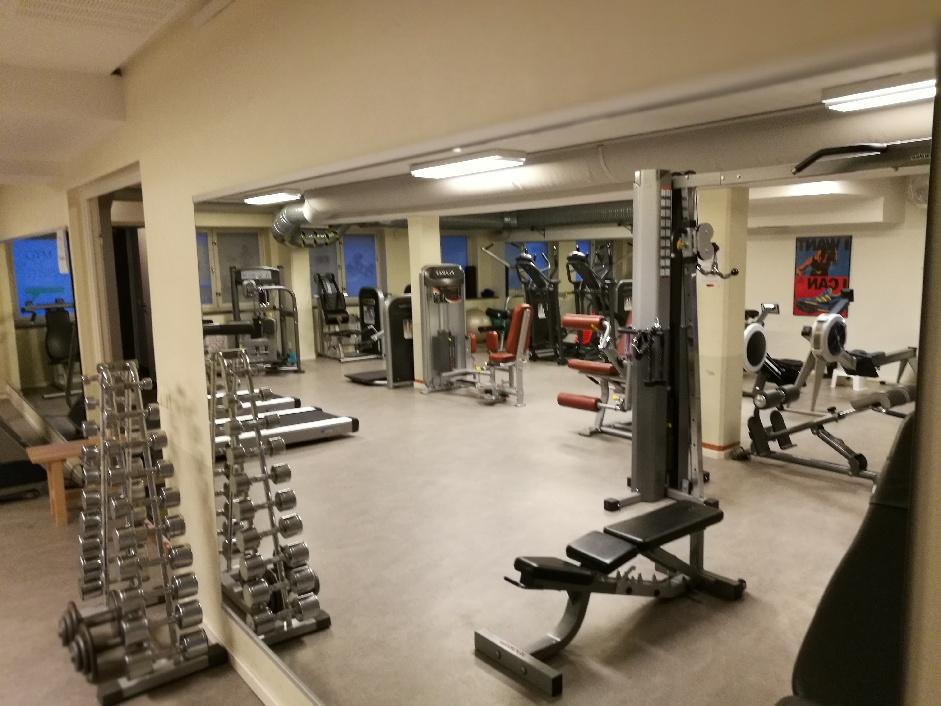 Gymmet i Lagersberg stängt året ut